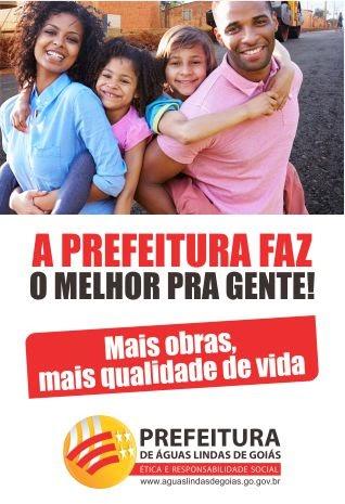 A PREFEITURA FAZ O MELHOR PRA GENTE!