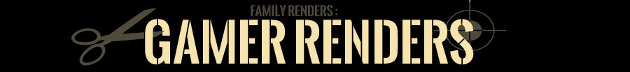 Games  | Family RENDERS