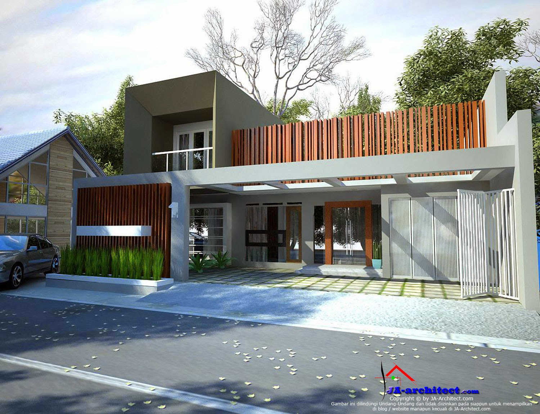 arsitek jasa desain rumah modern