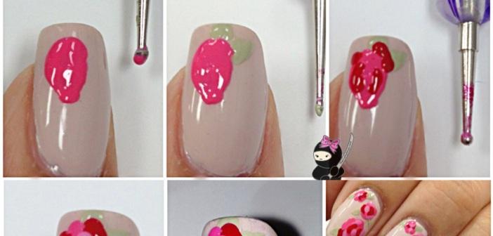 How to rose nail art image collections nail art and nail design pink rose nail art tutorial emaggy pink rose nail art tutorial prinsesfo image collections prinsesfo Gallery