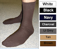 99% Cotton Dress socks