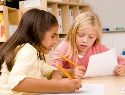 NAMC montessori week celebrate Maria Montessori girls writing