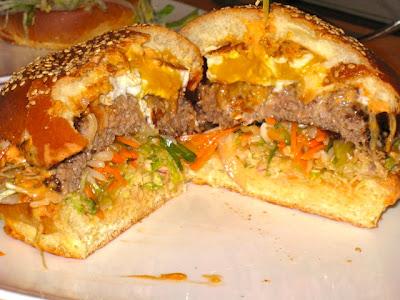 Bibimbap Burger