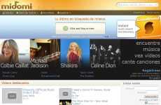 Reconocer canciones online: Midomi