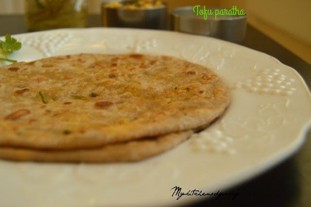tofu paratha recipe2