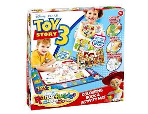Toy Story Remarkables Mat and Book (Pre-order only) RM75