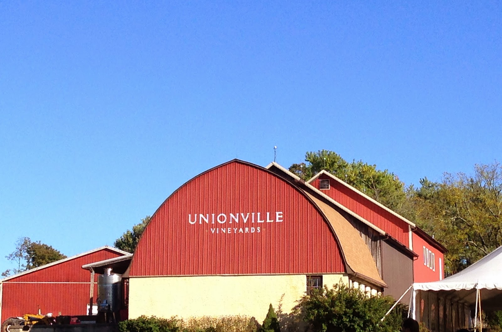 New Jersey Wine Trail - Unionville winery