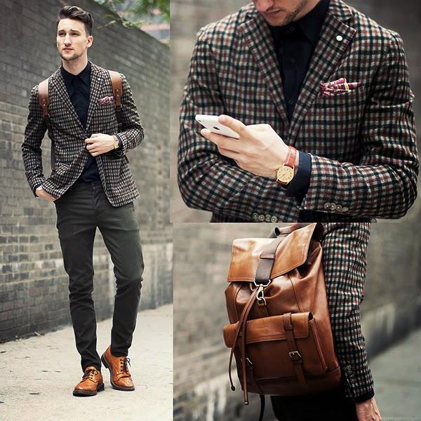 Suficiente Macho Moda - Blog de Moda Masculina: Mochilas Masculinas, Onde  HV23