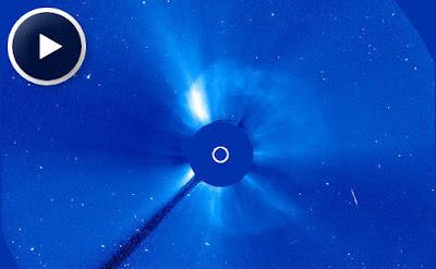 Eyección de masa coronal 28 de Septiembre 2012