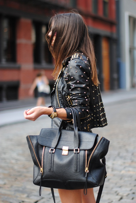 Fashion Inspiration, Leather, Lace