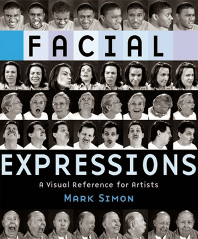 facial expressions mark simon cover book fine art