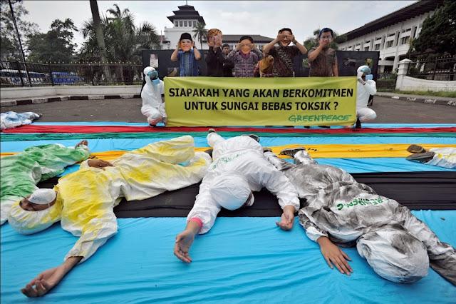 Greenpeace Tantang Calon Pemimpin Jabar