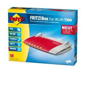 avm fritz wlan repeater avm fritz box 7390 wlan router vdsl adsl 300 mbit s dect basis. Black Bedroom Furniture Sets. Home Design Ideas