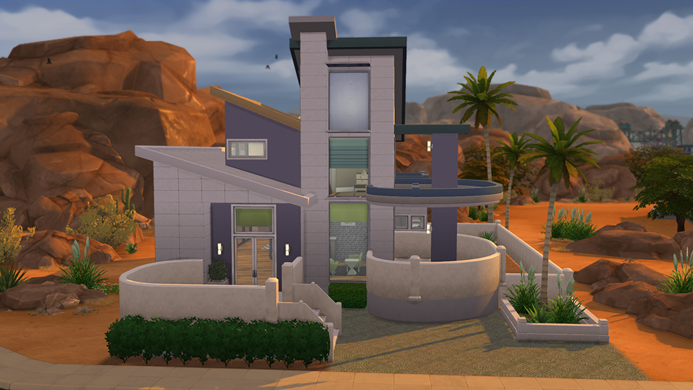 Affordable Modern Home Sims 4 Houses