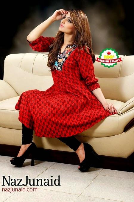 Naz Junaid Summer Collection 2014