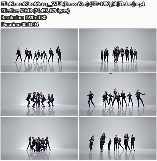 Download MV Nine Muses () - Wild () (Dance Version) (Full HD 1080p)