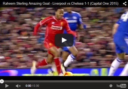 Highlights Capital One : Liverpool 1-1 Chelsea