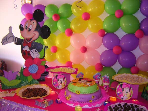 Fiesta infantiles para ni as imagui Ornamentacion con globos