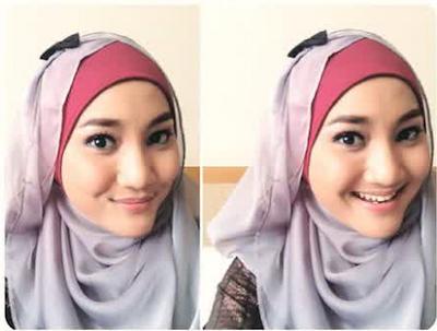 Model Hijab Fatin Sidqia Lubis