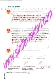 6.Sinif  Turkce Doku Yayinlari Ogrenci Calisma Kitabi Sayfa 16