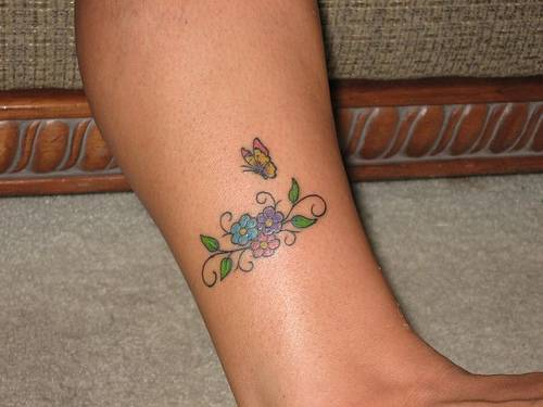 20 Butterfly Infinity Tattoos Legs Ideas And Designs