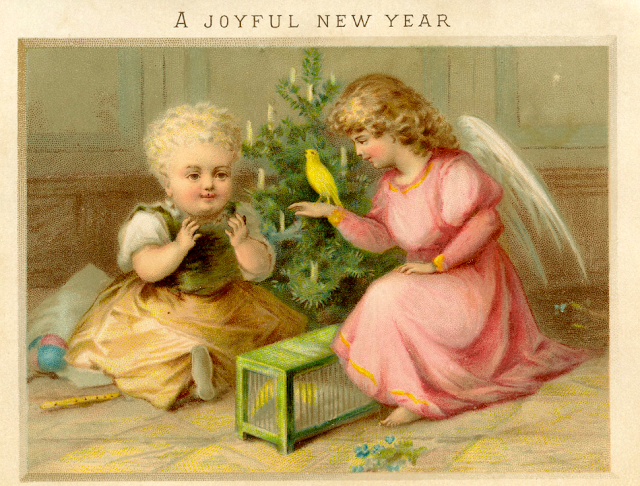 Happy New Year Image From Graphics Fairy