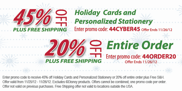 Cyber Monday Sale on Holiday Cards