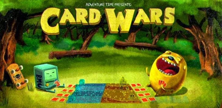 Download Card Wars - Adventure Time Apk + Data