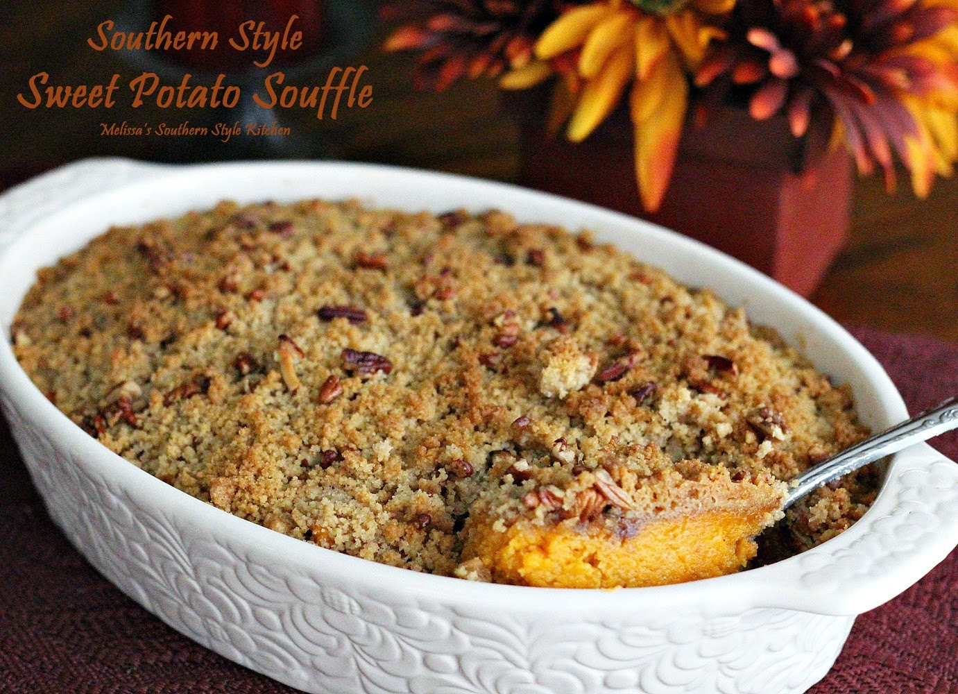 Sweet Potato Casserole With A Gingersnap Pecan Coconut ...