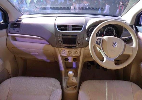 Suzuki Ertiga Matic Interior