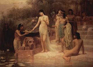 Μωυσής και Ακενατόν - The finding of Moses, Edwin Long