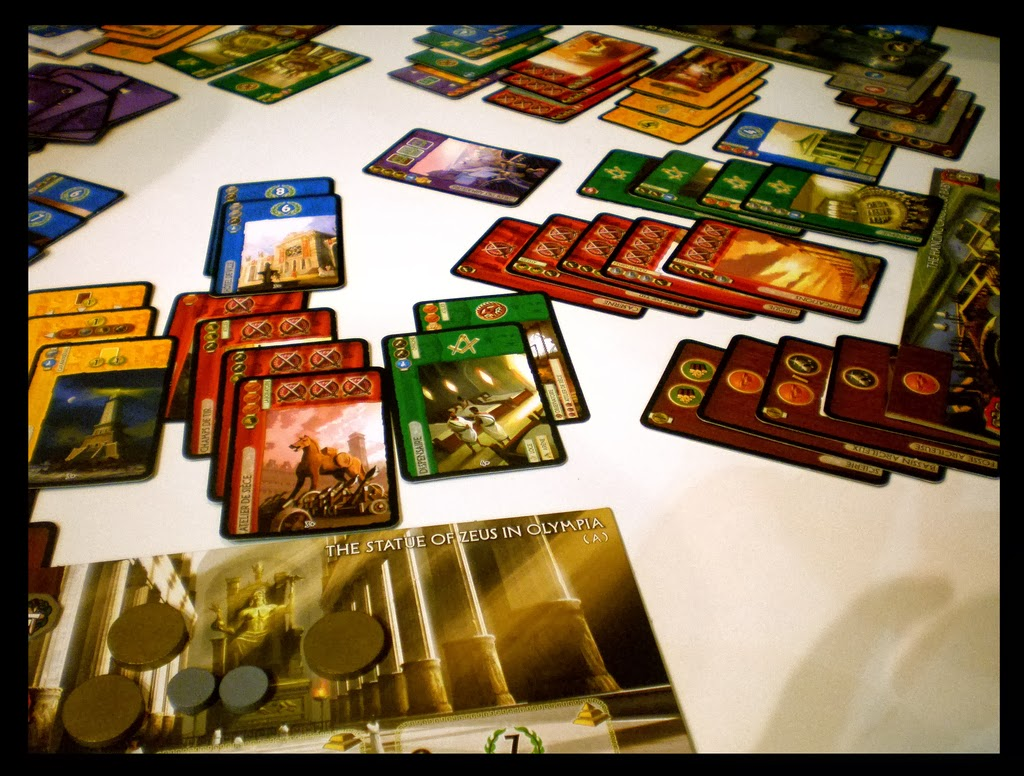 how to play 7 wonders with 2 players