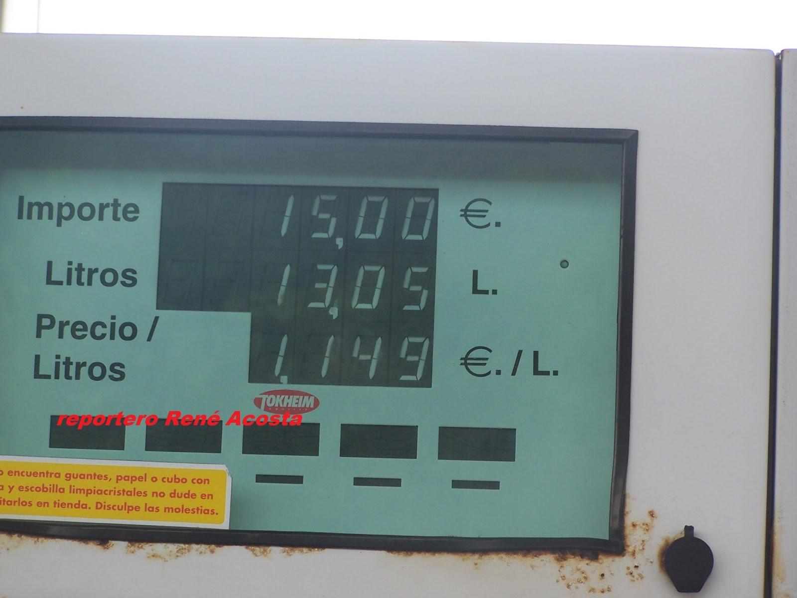 El coche que gasta poco la gasolina