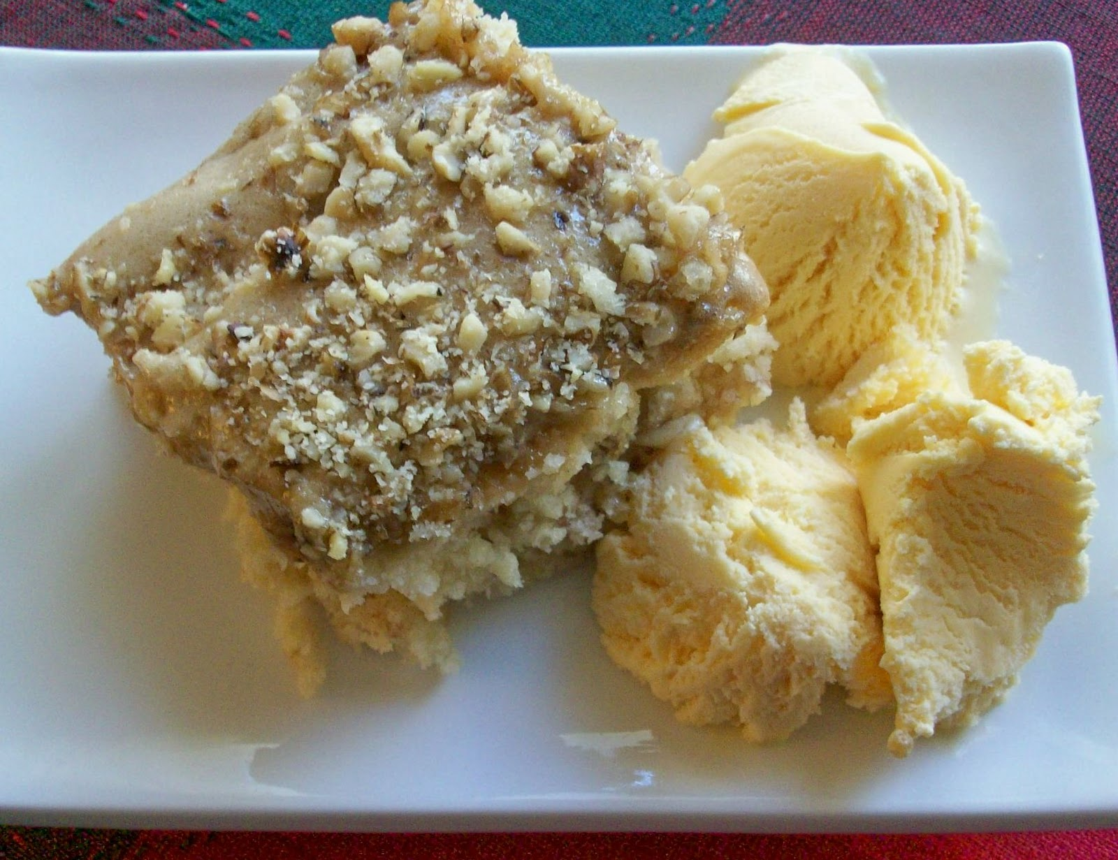Double Apple Walnut Cake Recipes — Dishmaps