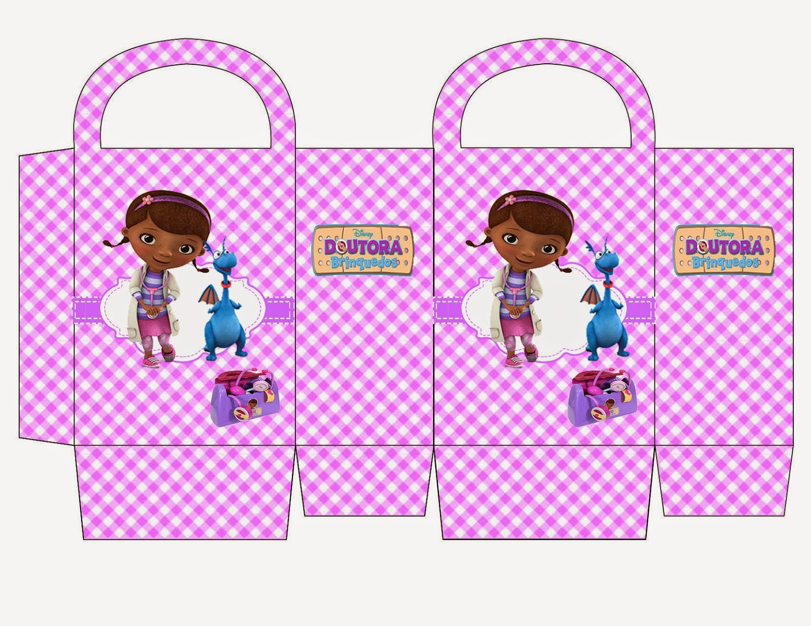 Doc McStuffins: Free Printable Candy Paper Bag. | Oh My ...