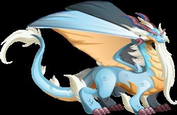 imagen del dragon puro adulto