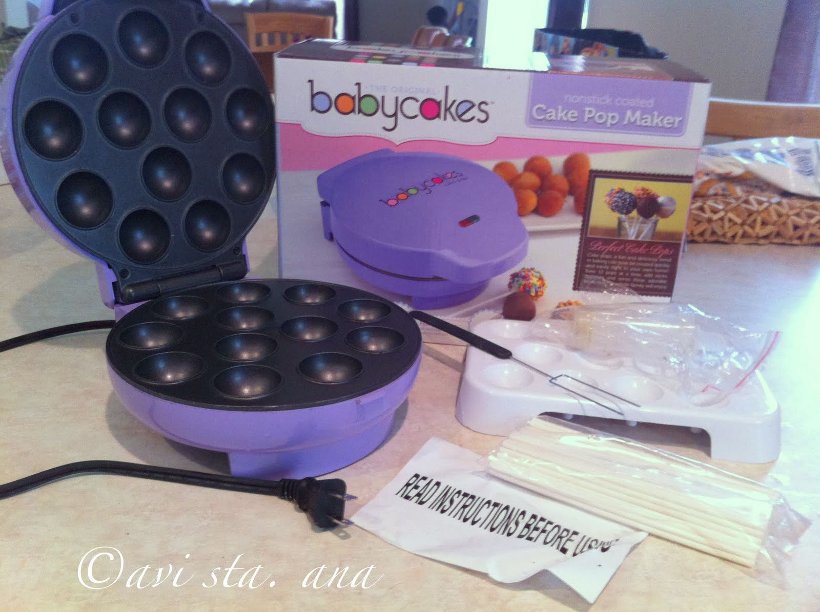 a lot of sugar babycakes cake pops maker. Black Bedroom Furniture Sets. Home Design Ideas