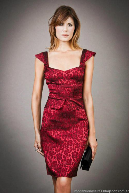 Veronica Far invierno 2013 moda invierno vestidos
