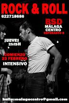 ROCK & ROLL INTENSIVO  23 DE FEBRERO EN BSD BAILAS MÁLAGA CENTRO.