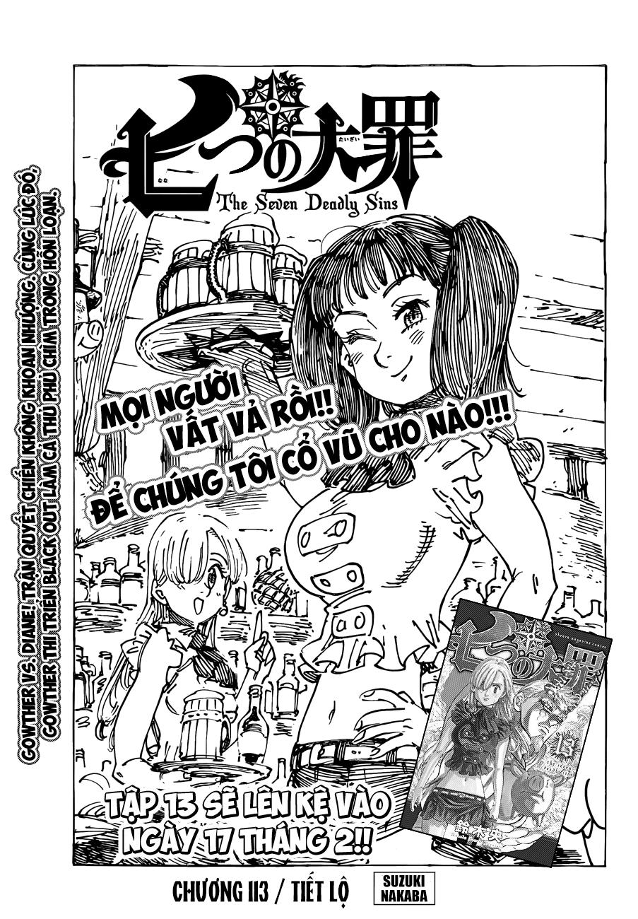 Nanatsu no Taizai - Thất Hình Đại Tội chap 113 page 2 - IZTruyenTranh.com