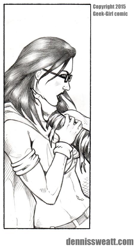 Geek-Girl Comic Book Art