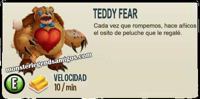 imagen de la descripcion del monstruo Teddy Fear