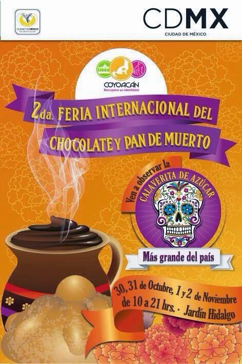 2da Feria Internacional del Chocolate y Pan de Muerto