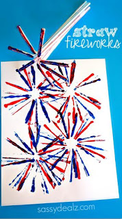 http://www.craftymorning.com/fireworks-craft-kids-using-straws/