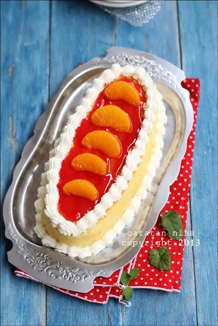 Cheddar Cheese Cake Catatan Nina
