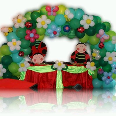 Fiestas Infantiles  Decoraci  N Mariquita
