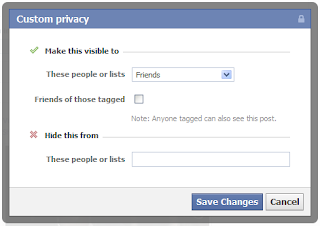 Facebook Pictures & Posts Private