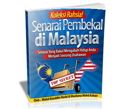 Senarai Supplier Pembekal di Malaysia