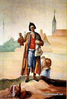 El choricero de Candelario Salamanca pintado por Bayeu