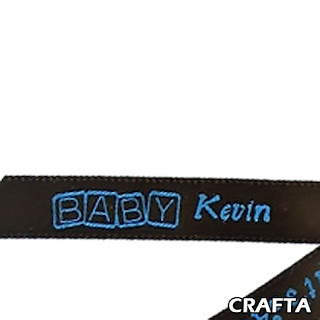 Baby Shower Personalized Ribbon